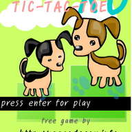 Doggy XO / Tic Tac Toe (Free game)
