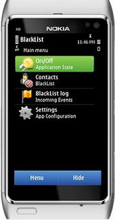 Blacklist Mobile Lite
