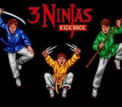 3 ninjas kick back (Sega CD)