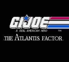 G.I.Joe: The Atlantis Factor