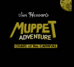 Jim Hensons Muppet Adventure: Chaos at the Carnival