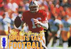 Joe Montana 2: Sports talk football