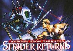 Journey from darkness: Strider returns