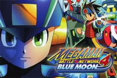 Megaman: Battle network. 4 Blue moon