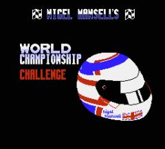 Nigel Mansells World Championship Challenge