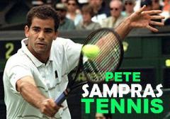 Pete Sampras: Tennis
