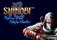 Shinobi 3: Return of the ninja master