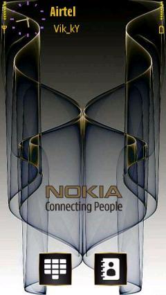 3d Nokia Gold