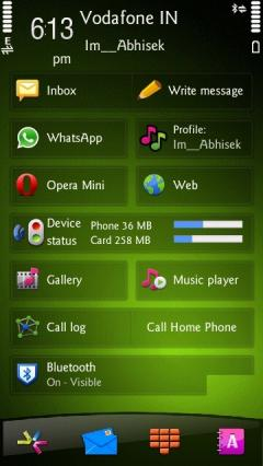 Nokia Droid Green