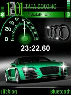 Clock N Car Speed