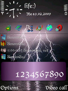 Lightning By Boroda1 Theme