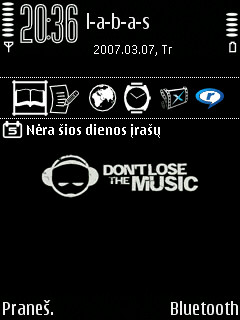 Dont Lose The Music Theme