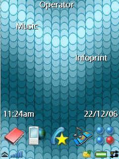 Dot Wave Blue