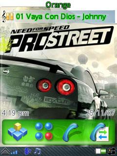 Nfs Prostreet Cars Theme