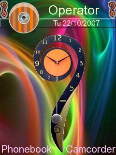 Clock Colours