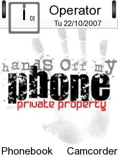 Hands Off My Phone