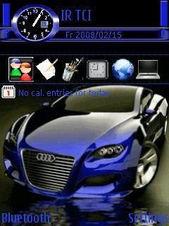 Blue Audi Locus