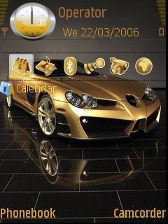 Mercedes Slr Gold