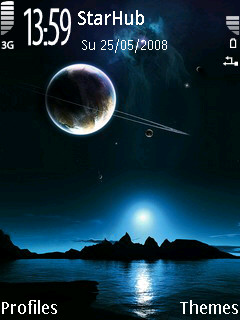 Night Sky Theme