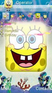 Happy Yellow Sponge