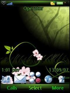 Green Flowers - G700