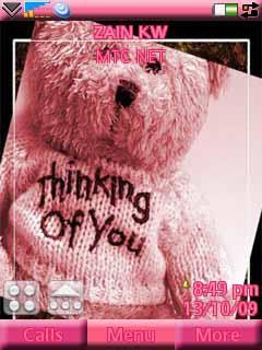 Teddy Love Pink