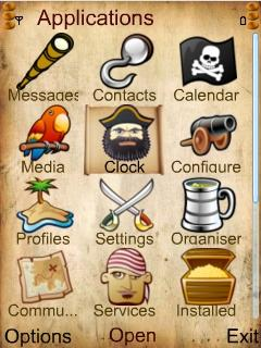 Pirate Style Icons