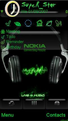 Nokia Music Theme