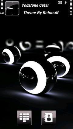 3d Balls Lights