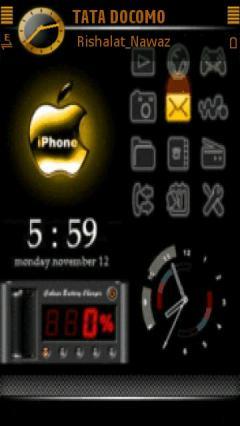 Animated Apple Clock