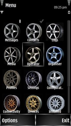 Wheels Menu