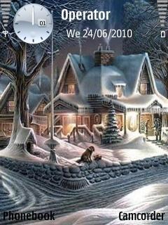 Winter Night By Zack