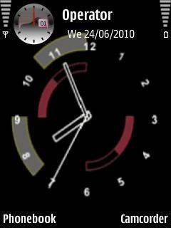 Analog Swf Clock