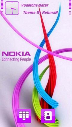 Purple Nokia