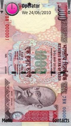 1000 Rupees