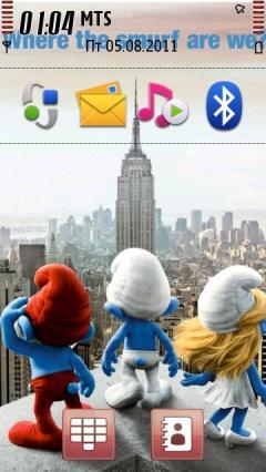 2011 Smurfs Movie