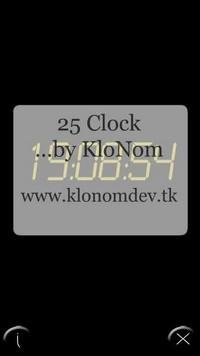 25 Clock