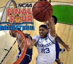 NCAA final four: Basketball