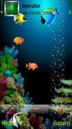 3d Aquarium View