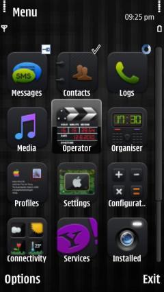 3d Black Iphone