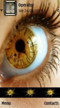 3d Clock Eye