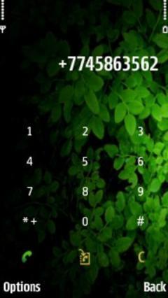 3d  Leaf Dark