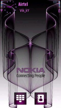 3d Nokia Purple