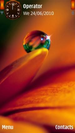 3d Water Drop For Nokia N8 00 Nokia Vasco Free Download In Themes