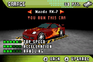 Need for speed: Underground 2 GBA for Nokia E72 Free