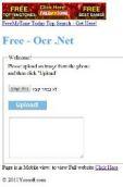 FreeOcrWeb