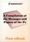 A Compilation of the Messages and Papers of the Presidents Volume 2, part 2: John Quincy Adams for MobiPocket Reader