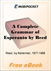 A Complete Grammar of Esperanto for MobiPocket Reader