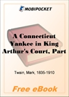 A Connecticut Yankee in King Arthur's Court, Part 9 for MobiPocket Reader