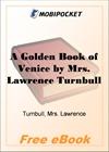 A Golden Book of Venice for MobiPocket Reader
